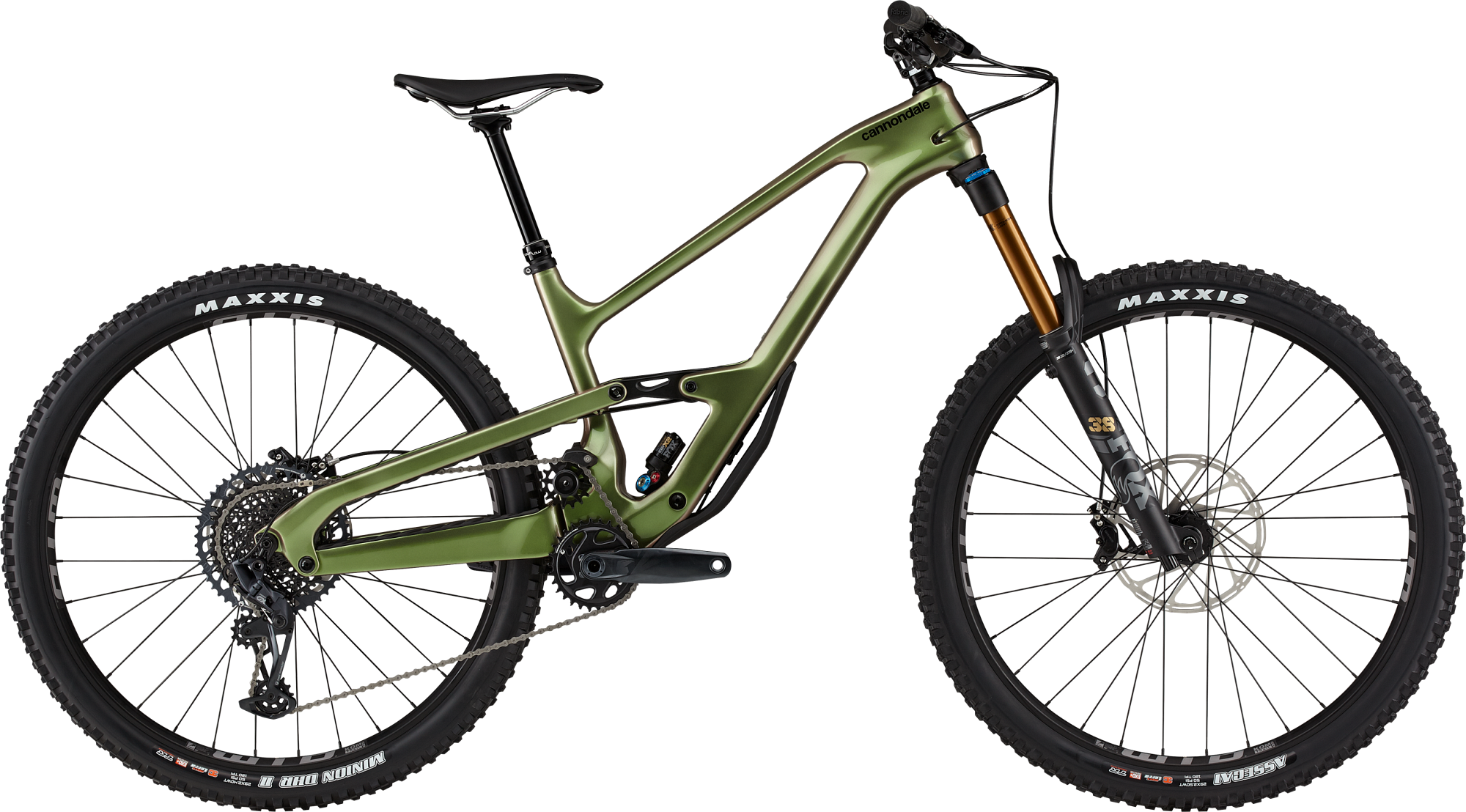 Cannondale Jekyll 1 Beetle Green Trail Bikes